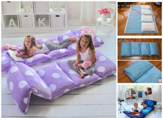 Pillow Floor Lounger Free Sewing Pattern