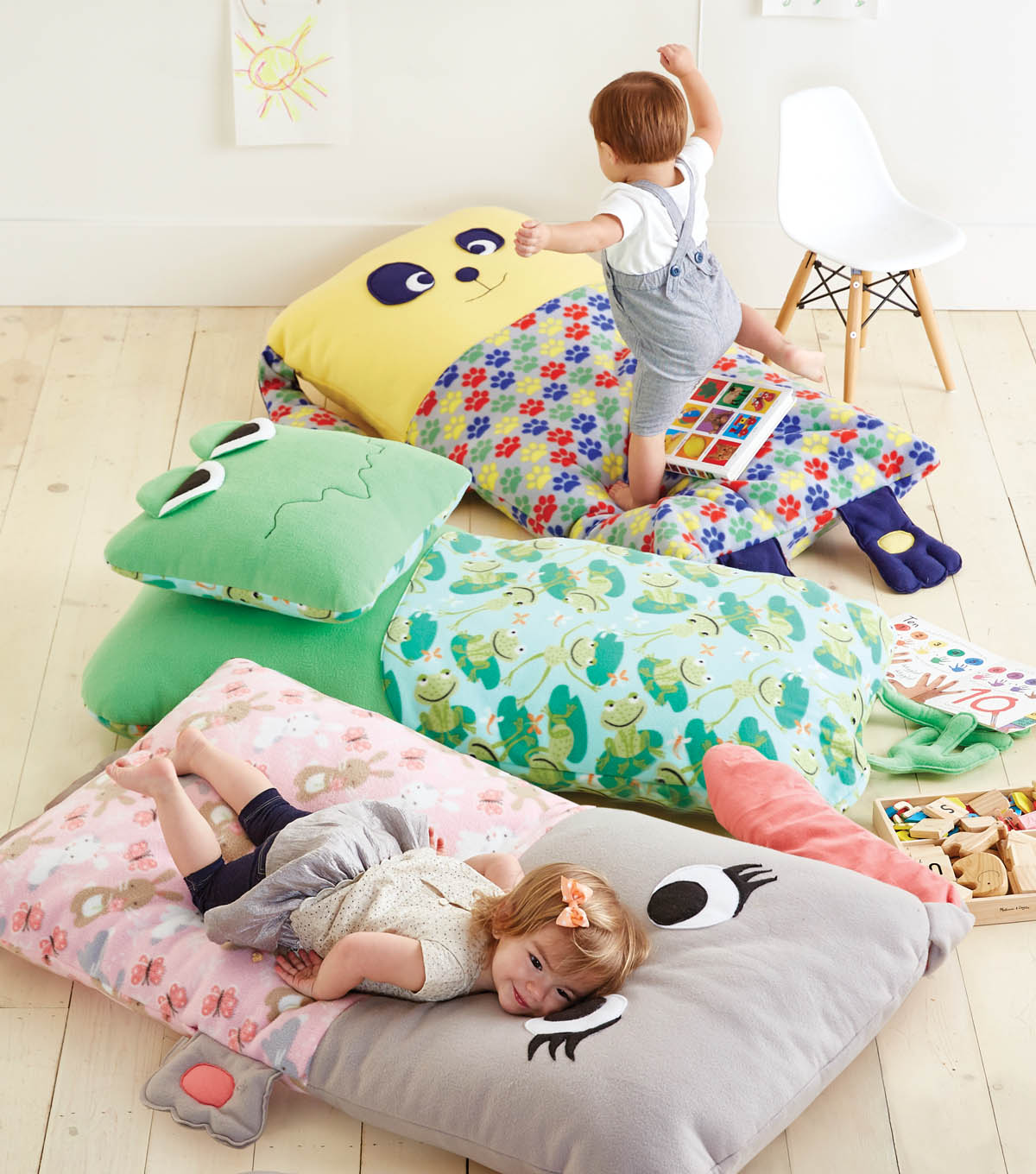 Child Floor Pillow Free Sewing Pattern