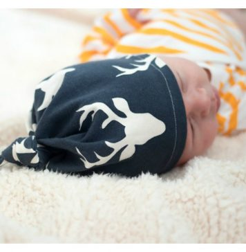Easy Knotted Baby Hat Free Sewing Pattern