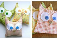 Simple Owl Softies Free Sewing Pattern