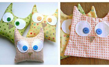 Simple Owl Softies Free Sewing Pattern