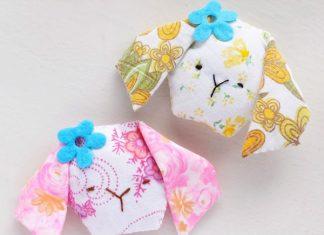 Bunny Sachet Free Sewing Pattern