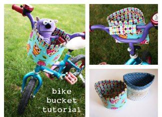 Bicycle Bucket Free Sewing Pattern