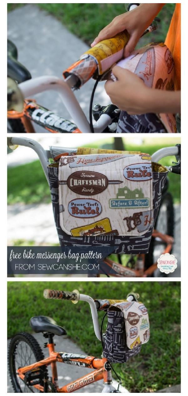 Bike Messenger Bag Free Sewing Pattern