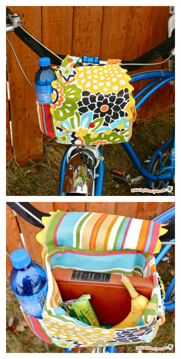 Bike Satchel with Pockets Free Sewing Pattern