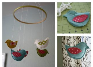 Birdie Mobile Free Sewing Pattern