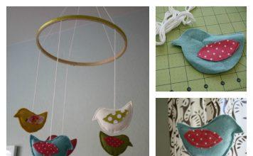 Birdie Mobile Free Sewing Pattern