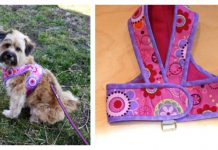 Kimono Dog Harness Free Sewing Pattern