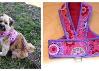 Kimono Dog Harness Free Sewing Pattern