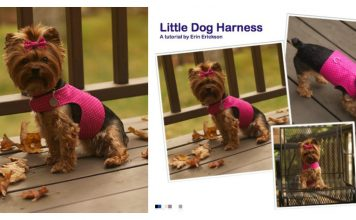 Little Dog Harness Free Sewing Pattern