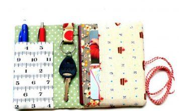 Organizer Wallet Free Sewing Pattern