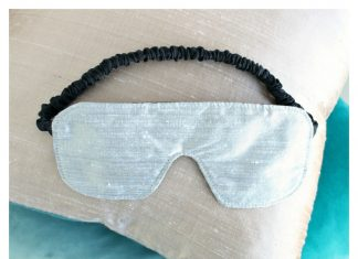 Sleep Mask Free Sewing Pattern