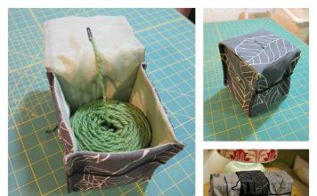 Yarn Holder Free Sewing Pattern