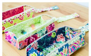 Zola Pen Case Free Sewing Pattern