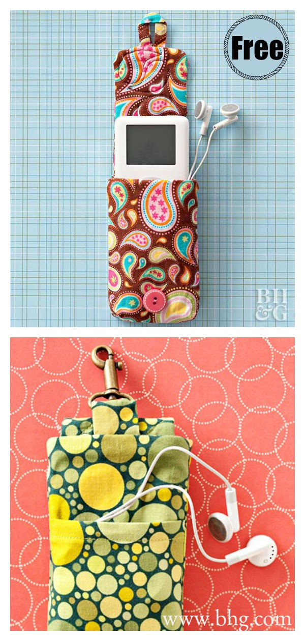 iPod Holder Free Sewing Pattern