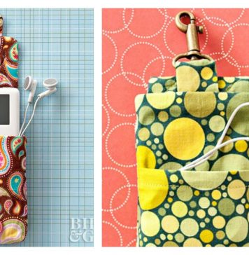 iPod Holder Free Sewing Pattern