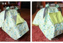 Car Seat Canopy with Peek-a-Boo Window Free Sewing Pattern