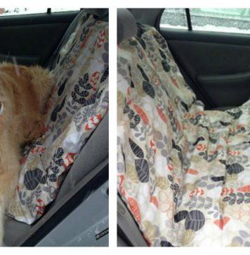 Dog Car Hammock Free Sewing Pattern