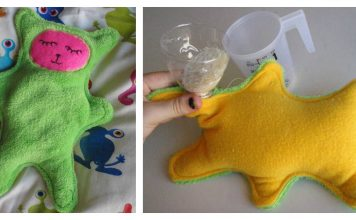 Heated Cuddle Buddy Free Sewing Pattern