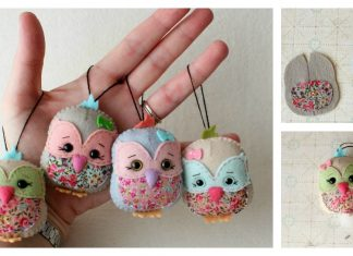 Little Bird Keychain Free Sewing Pattern