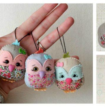 Little Bird Keychain Free Sewing Pattern
