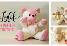 Stuffed Teddy Bear Free Sewing Pattern