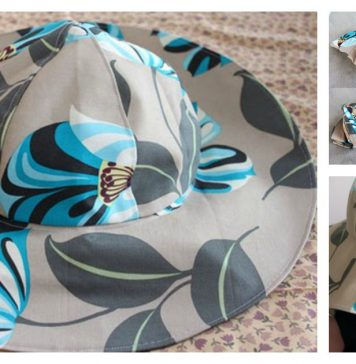 Sun Hat Free Sewing Pattern