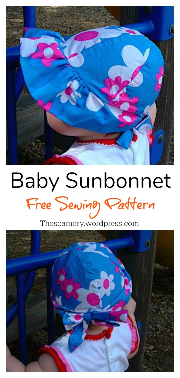 Baby Sunbonnet Free Sewing Pattern