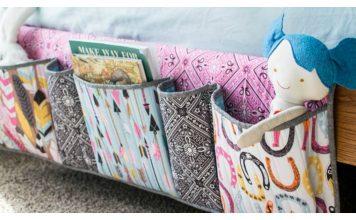 Bedside Pockets Organizer Free Sewing Pattern