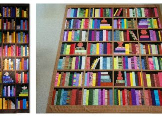 Bookcase Quilt Free Sewing Pattern