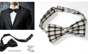 Bow Tie Free Sewing Pattern