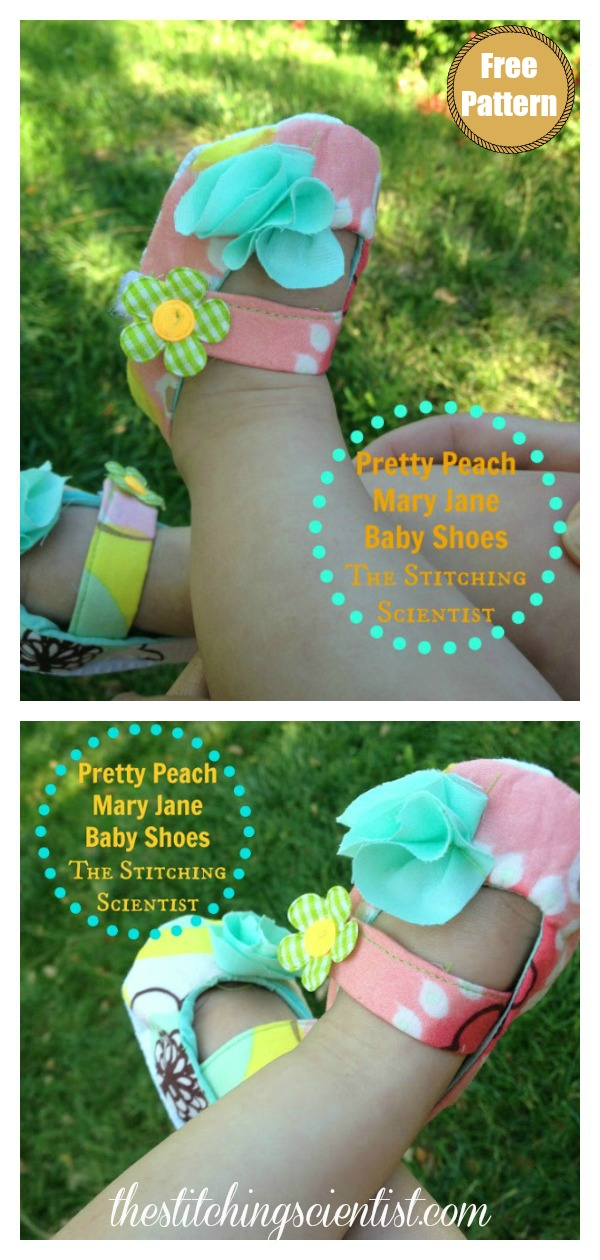 Classic Baby Mary Jane Shoes Free Sewing Pattern