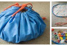 Drawstring Toy Bag Free Sewing Pattern
