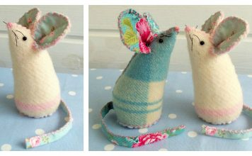 Mouse Pincushion Free Sewing Pattern