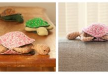 Peekaboo Plush Turtle Free Sewing Pattern and Template