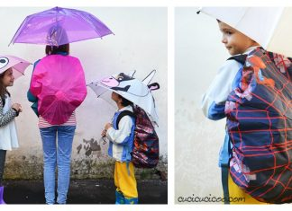 Backpack Rain Cover Free Sewing Pattern