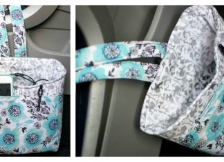 Car Diddy Bag Free Sewing Pattern
