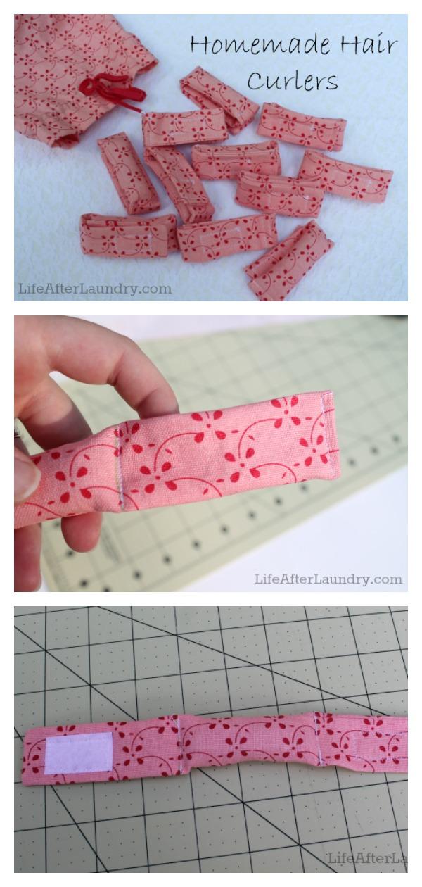 DIY Hair Curlers Free Sewing Pattern