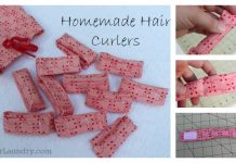 DIY Hair Curlers Free Sewing Pattern