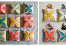 Felt Flower Sachets Free Sewing Pattern