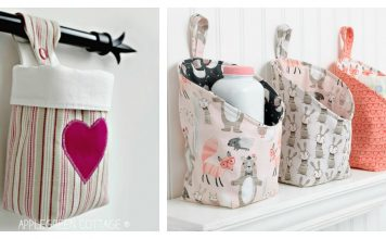 Hanging Basket Free Sewing Pattern