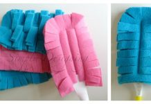 Reusable Swifter Duster Cover Free Sewing Pattern