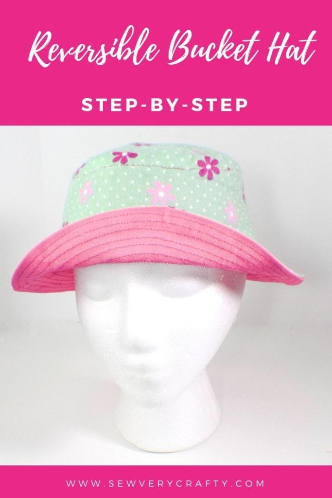 Reversible Bucket Hat Free Sewing Pattern