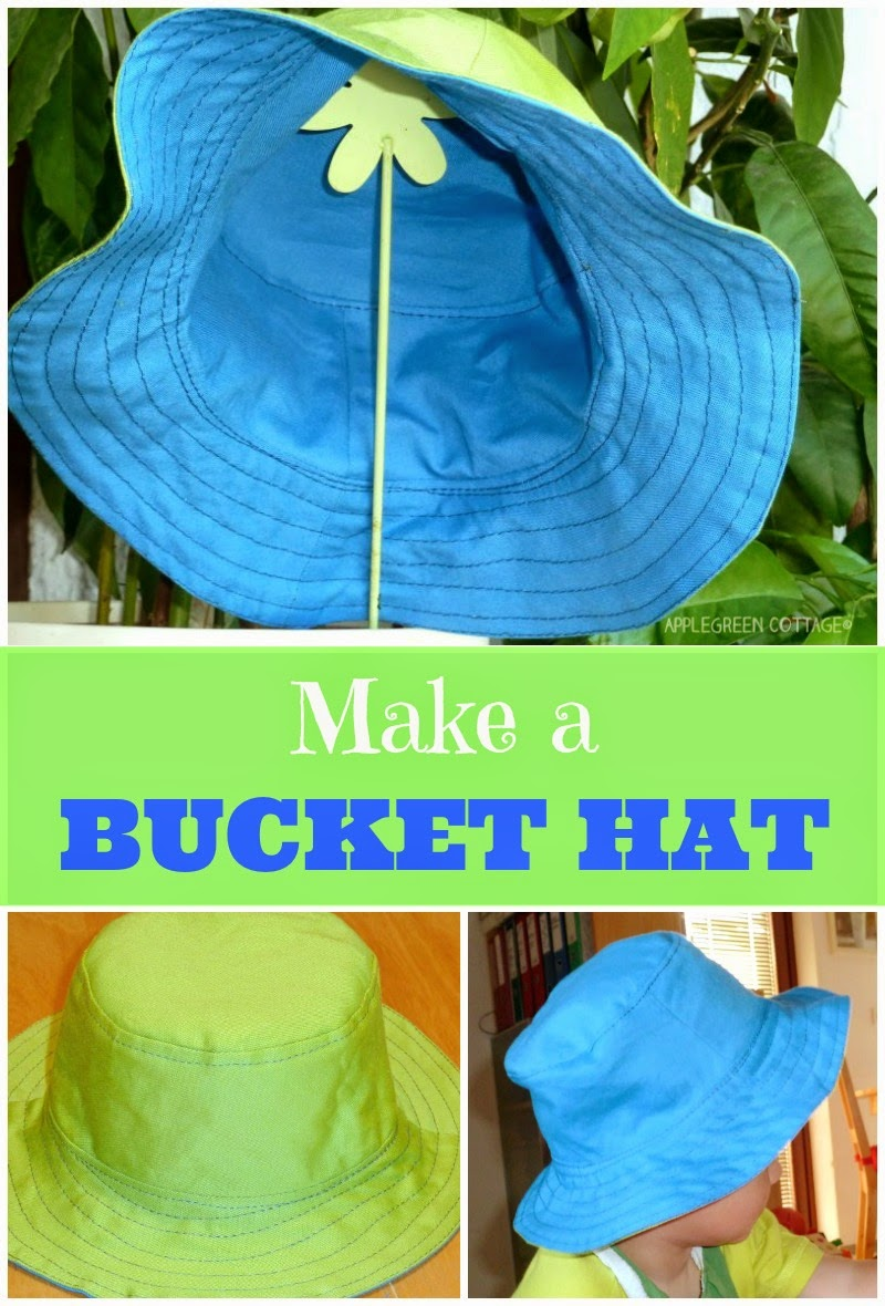 Reversible Bucket Hat Free Sewing Pattern