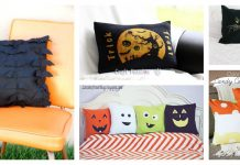 Halloween Pillow Free Sewing Pattern