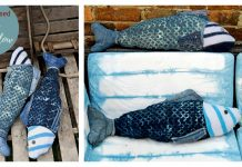 Fish Pillow Free Sewing Pattern