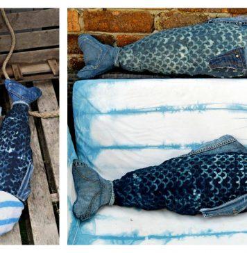 Fish Pillow Free Sewing Pattern