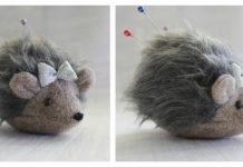 Hedgehog Pincushion Free Sewing Pattern