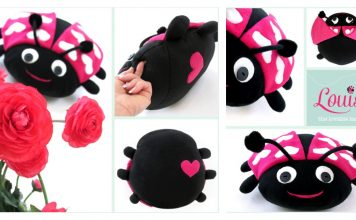 Sweet Love Ladybug Free Sewing Pattern