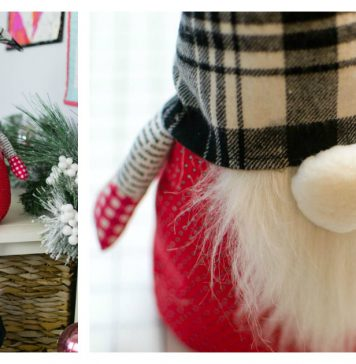 Christmas Gnome Softie Free Sewing Pattern